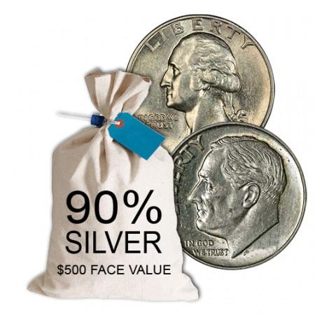 Silver bag 500 mixed